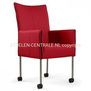 Basty Armstoel Design rood